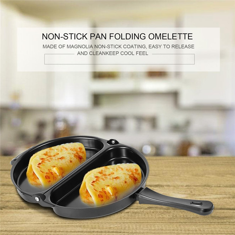 ICOCO Nonstick Omelet Egg Pan Poacher Cookware Stove-top Family Kitchen Tool Use Egg Frying Pancake Kitchen Pan innovative owl shape silicone egg frying mould frying pancake mold breakfast mould creative kitchen supplies for diy present