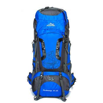 80L Large Backpack Waterproof outdoor Travel Bags Camping Hiking Climbing Backpacks Waterproof Rucksack Sport bag - DISCOUNT ITEM  30% OFF Sports & Entertainment