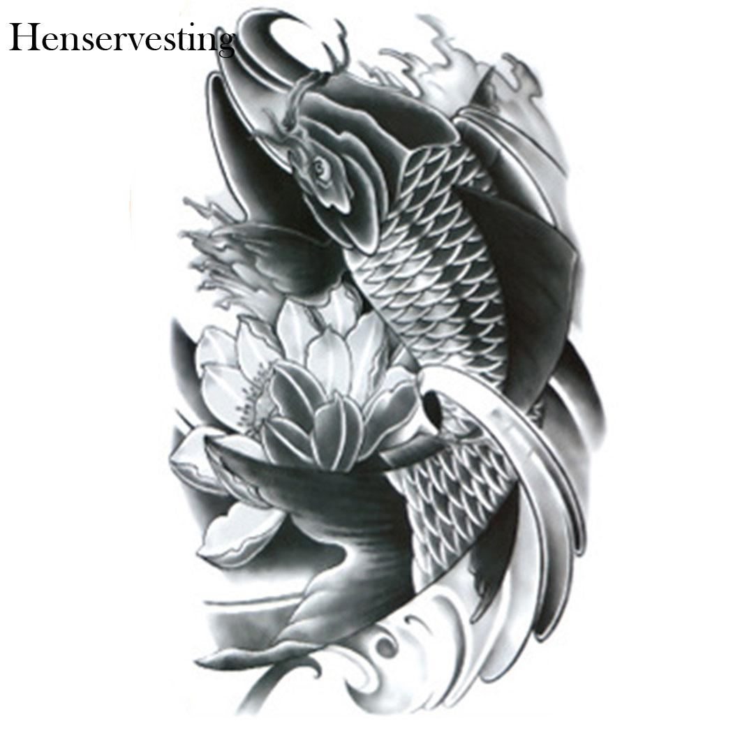 Arms Teens Guys Men Women Waterproof Anime Tattoo Stickers For New Shoulders Chest