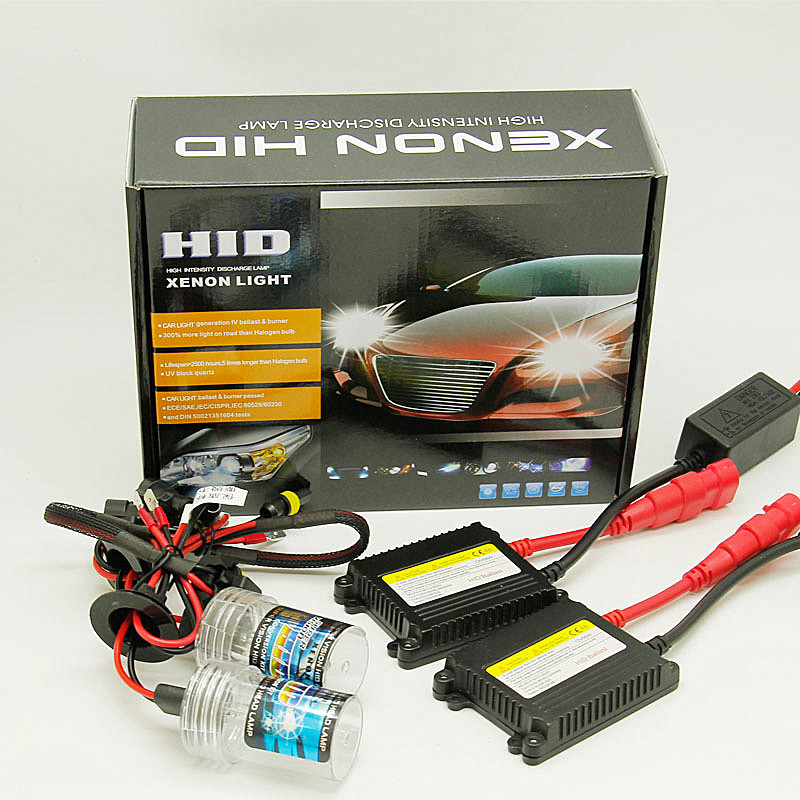 HID 9005 9006 H7 H1 H11 H3 55w 880 881 Single Beam Xenon Light Kit 4300k 6000k 8000k 10000k Light