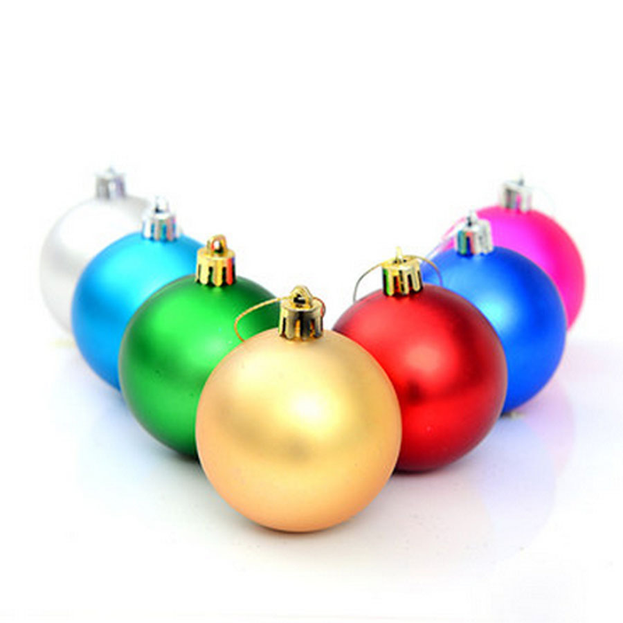 9e1f4a7f5f1 Plstico grande Navidad bolas 24 unidslote para Navidad rbol