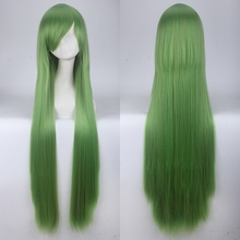 Anime Cosplay Wig-Costume Wigs Rose-Net Synthetic-Hair Orange Woman 100cm Cap Silver