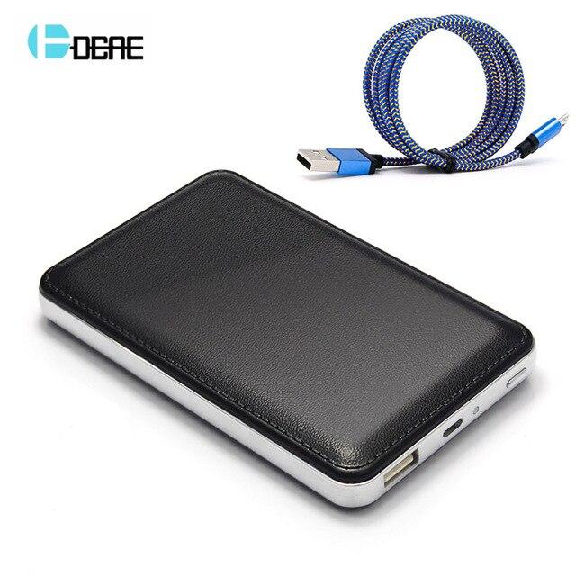 DCAE Новый Мобильный Банк Питания 10000 мАч powerbank портативное зарядное внешняя Батарея 10000 мАч мобильный телефон универсальное зарядное устройство