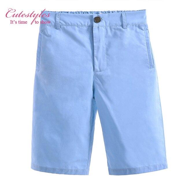 Pettigirl 2017 New Hot Sale Spring Autumn Boys Casual Cotton Blue Kids Trousers Children Zipper Solid Pants Outfit PT90319-28L