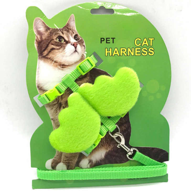 Cat Collars With Leashes Angel Wings