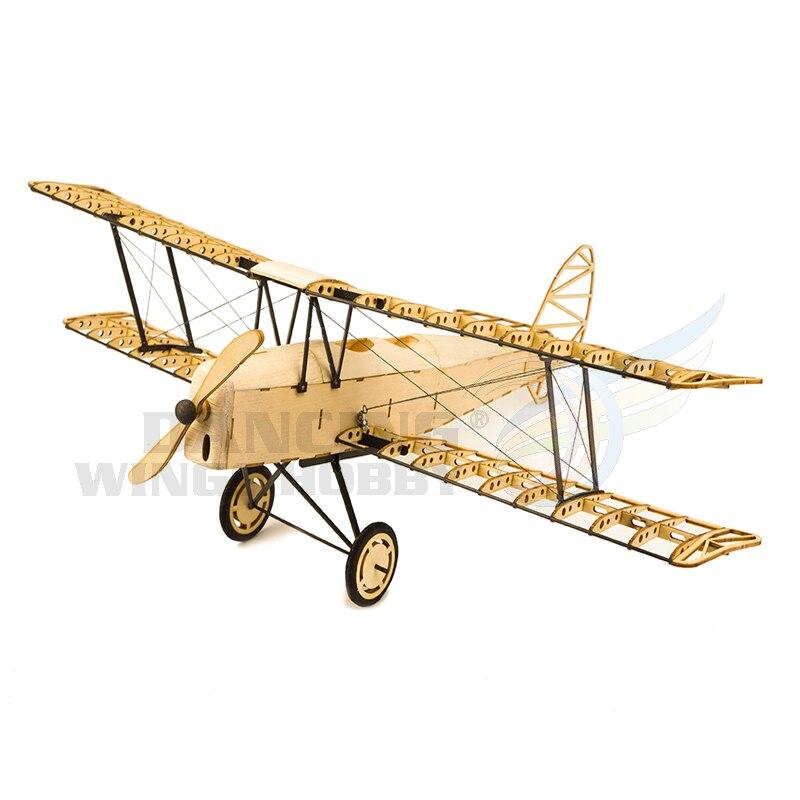 Balsa bois tigre papillon modèle d'avion découpé au Laser Woodcraft Construction Kit bricolage 3D Puzzle en bois Construction jouets pour auto-assemblage
