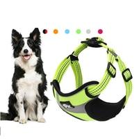 Small Leash Set Large Dog Harness Cute Chihuahua Pitbull Black Pitbull Terrier Dog Belt Tuigje Hond Pet Shop Products 50XQ26