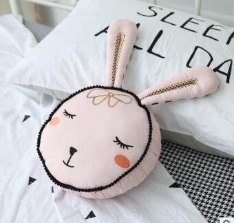 Explosive models Nordic style photo decoration pillow 2018 new children's toys pink rabbit pillow