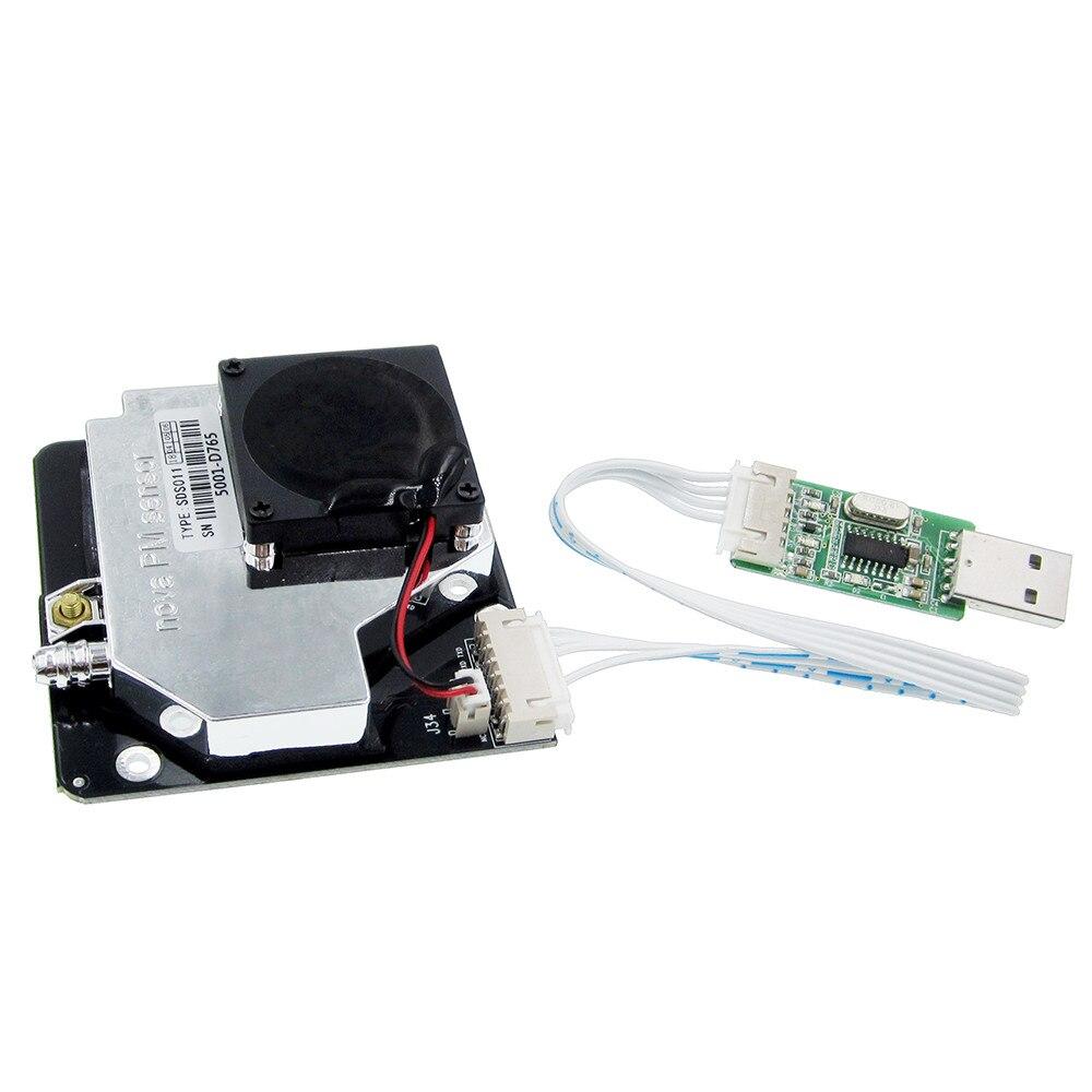 Image 5 - Nova PM сенсор SDS011 Высокоточный лазер pm2.5 Датчик качества воздуха модуль супер пыли датчики, цифровой выход-in Сенсоры from Электронные компоненты и принадлежности on AliExpress