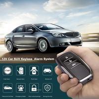 AUTOECH 12V Car SUV Keyless Entry Engine Start SUV Keyless Alarm System Push Button Remote Starter Stop Auto Car Accessories