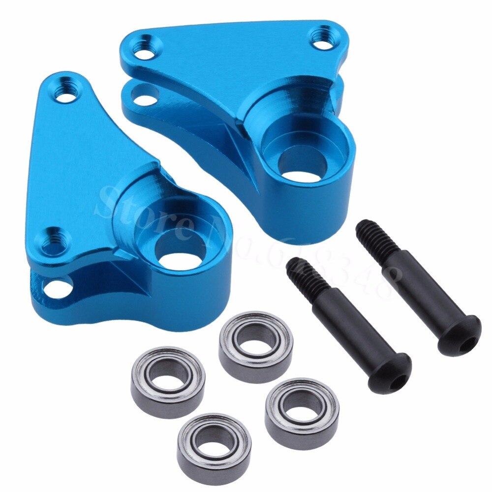 2 шт. задние алюминиевые коромыслы и подшипники 4x8x3 мм для Traxxas 1/16 Slash 4WD E-Revo sumит VXL RC автозапчасти 7158