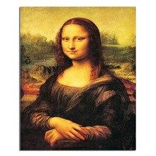Mona Lisa 50×40 cm Neue 100% Full Area Highlight Diamant Hand Diy Diamant Malerei Kit 3D Diamant Kreuz stich Stickerei