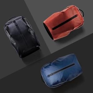 Image 4 - Youpin 90FUN 모든 날씨 기능성 배낭 패션 방수 가방 여행 대학 학교 Bussiness, 블랙/오렌지/블루 H20 #0