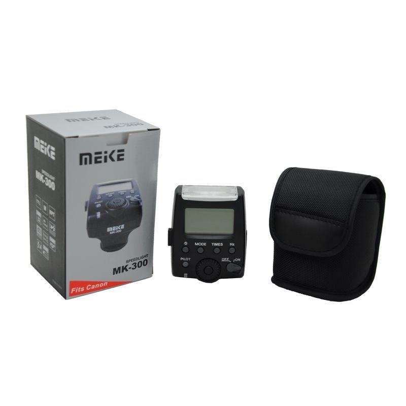 Meike MK-300 MK300 LCD i-TTL Flash Speedlite GN30 for Canon EOS M M2 M3 M5 M6 M10 G15 G16 G1X G3X G5X SX50 SX60 77D 750D 760D zoom g3x