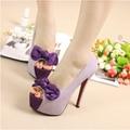 Hot Sales 2016 New Open toe 16 CM summer sexy high heels platform rhinestone woman sandals silver wedding shoes women's pumps