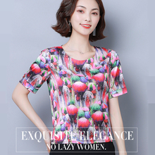 Korean Fashion Silk Women Blouses Satin Womens Tops and Blouses Short Sleeve Black Women Shirts Plus Size XXXL/4XL Ladies Tops цена
