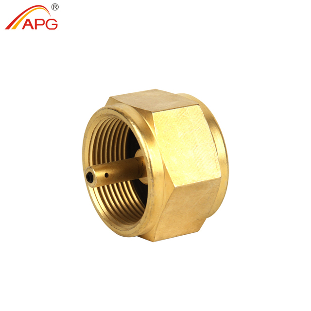 APG Propane Refill Adapter Mapp Gas Tank Valve Canister Outdoor Camping Stove Convert Cylinder Canister Gas Convertor Shifter