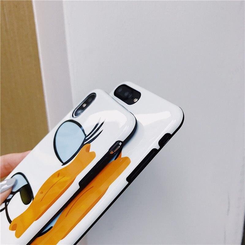 HTB1dpJtUXzqK1RjSZFvq6AB7VXaj Cute Cartoon Lanyard crossbody Phone Case For iphone Xs Max Xr X 7 8 6 Plus Soft Silicon TPU cover Phone Bag Shoulder Strap case