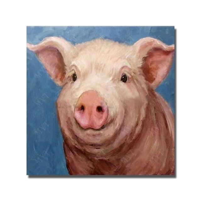 Gestreckte Schweine