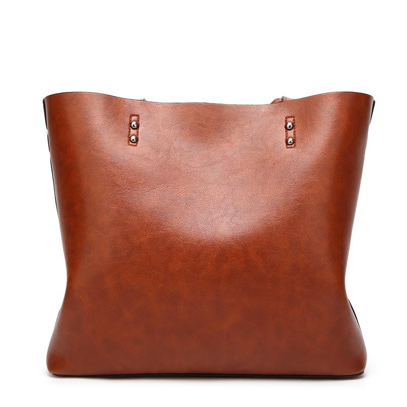 Style européen et américain Sacs à main en cuir rétro grande - Des sacs - Photo 3