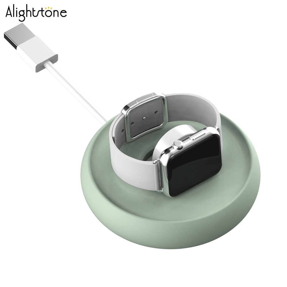 Alightstone Rubber Watch Stand For Apple Watch Desktop Charging Dock Cable Managment Chargers Holder