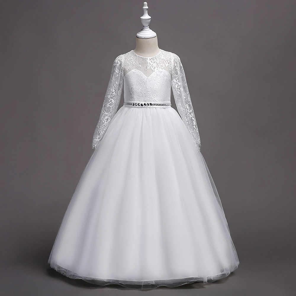 Одежда для дня рождения; детское платье принцессы с цветочным принтом для девочек; Пышное Кружевное платье-пачка с фатиновой юбкой; вечерние платья для девочек на свадьбу