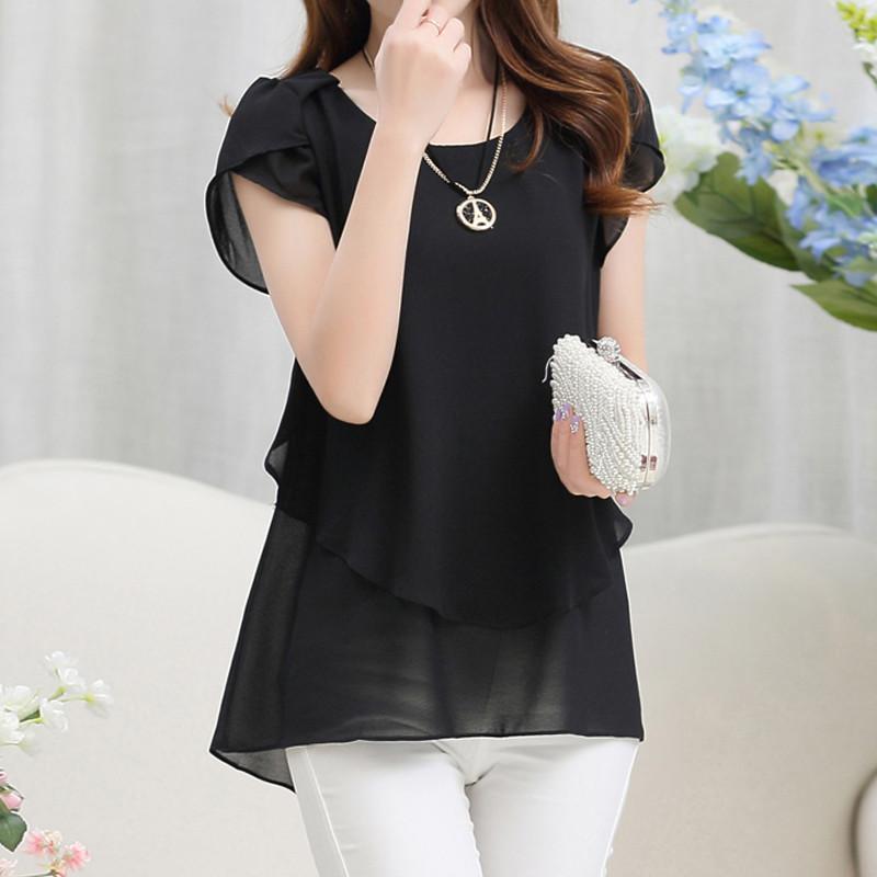 short sleeve chiffon blouse (16)