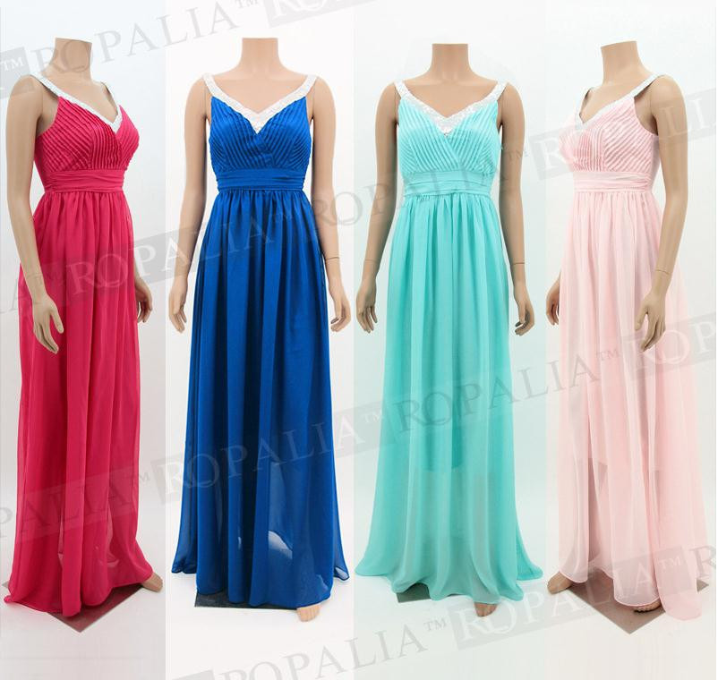 Элегантное женское платье для свадебной вечеринки, шифоновое платье в пол на тонких бретелях, большие размеры XL, платья подружек невесты CK67