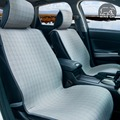 Cubierta de asiento de coche universal Housse asedio voiture cojín Del asiento de Coche de lino Megane 2 logan 206 Astra h Rx30 Solaris C5 C4 Rápida Fabia
