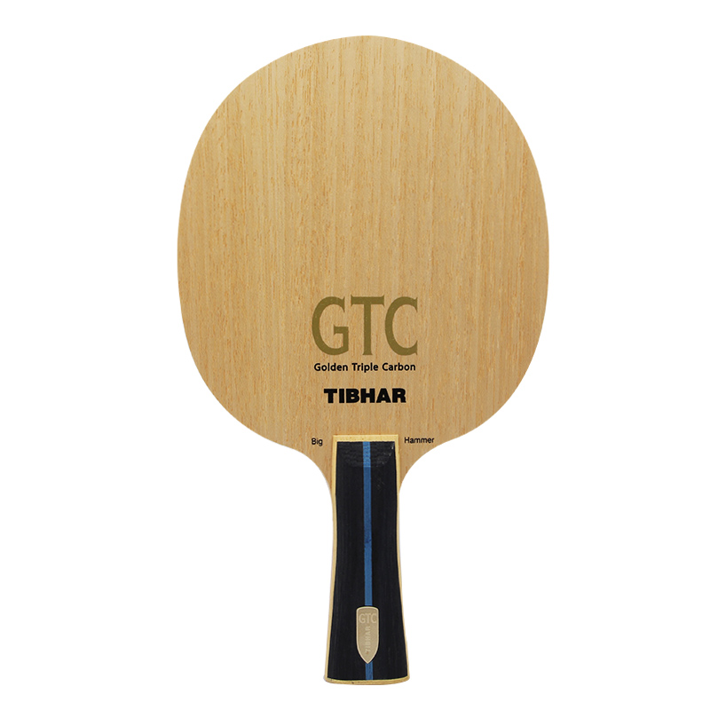 TIBHAR GTC Big Hammer Golden Triple Carbon 8 3 Ply Racket Table Tennis Blade Racket Ping