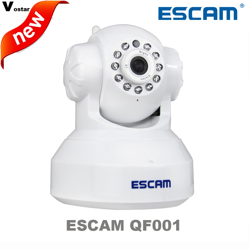 bilder für Escam qf001 mit plug & play p2p drahtlose wifi pan tilt ir cut zwei-wege audio micro sd card slot 720 p hd onvif ip KAMERA