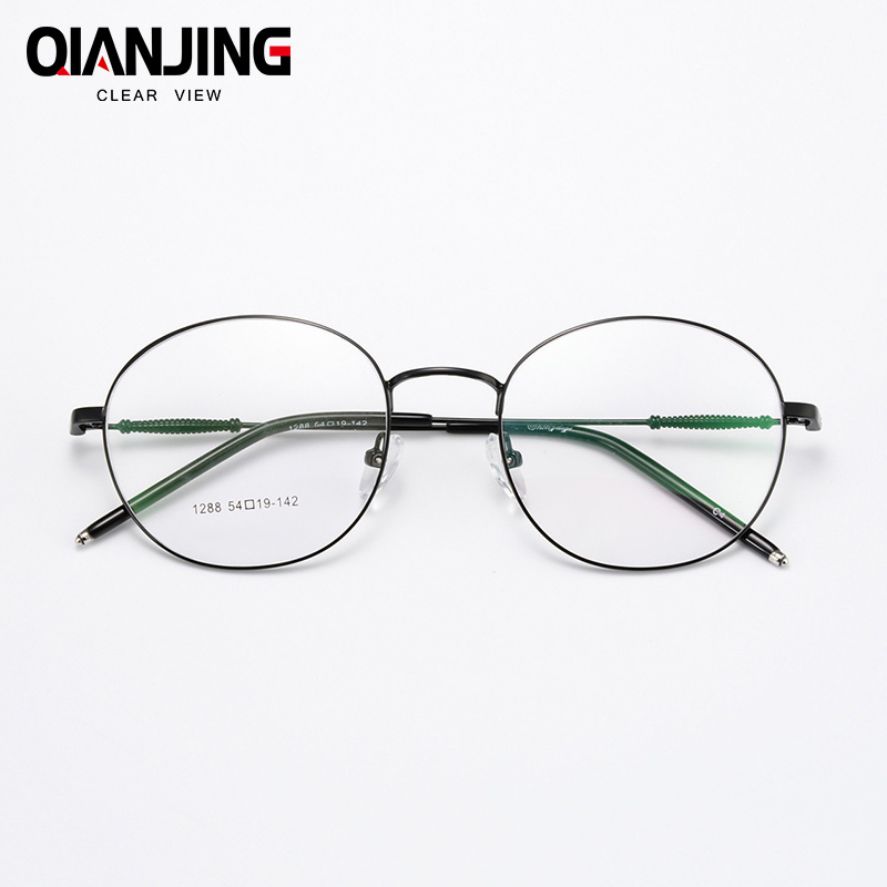 QianJ Anti Blue Rays Spectacle Frame Men Women Eyeglasses Opitcal Computer Gaming Eye Glasses Clear Lens For Male Female Eyewear