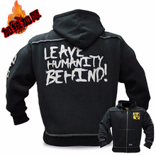 2020 Mutant Winter  Fitness Men Gyms Hoodies Sweatshirt Bodybuilding Hoody Zipper Casual Sweatshirt Mens Slim Fit Hooded Jacket