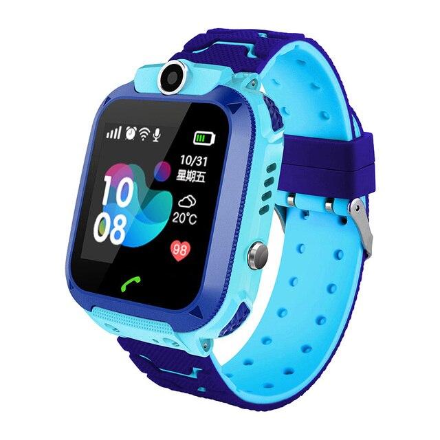 LIGE Kid Smart watch LBS Smartwatches Baby Watch Children SOS Call Location Finder Locator Tracker Anti Lost Monitor Kid Gift