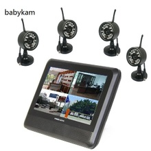 Babykam 7.0 inch wireless baby monitor Waterproof camera IP66 IR Night vision baba electronics digital baby monitor Max 4 camera