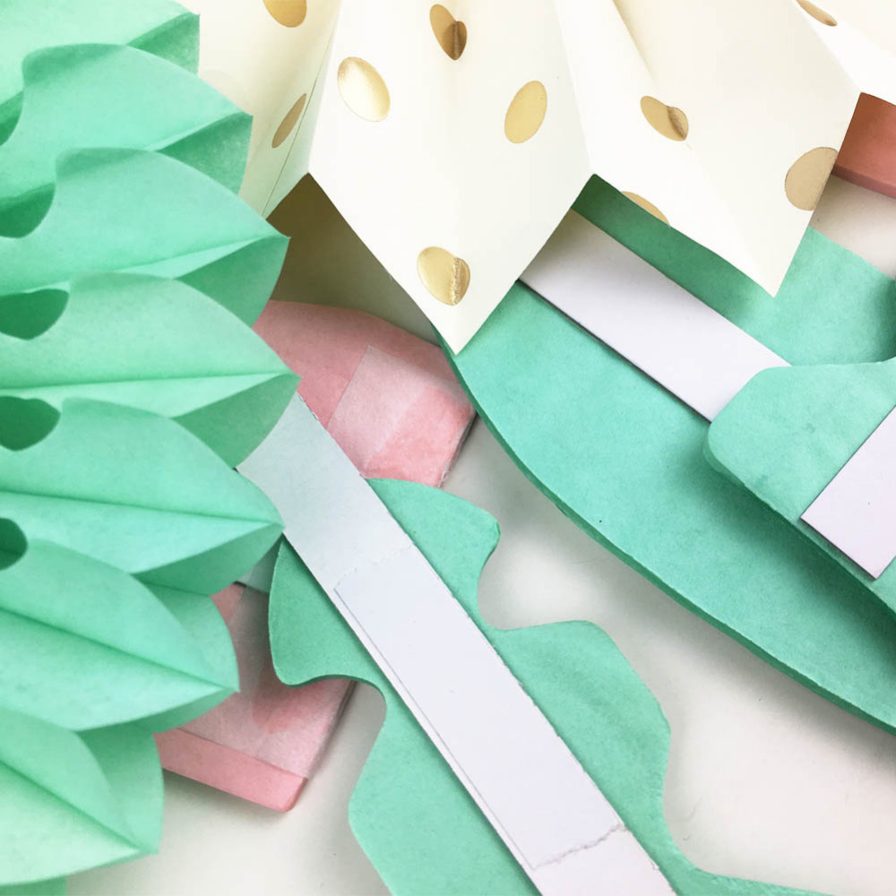 7pc set Summer Party Decorations Paper Rosettes Fan Photo Backdrop For Baby Shower Wedding Birthday Party Events Decoration in Party DIY Decorations from Home Garden