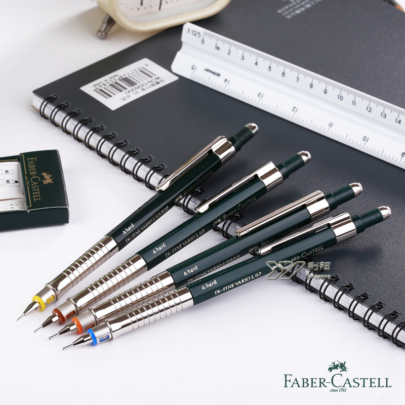 lifemaster germany faber castell mechanical pencils hard soft mode mm graphic. Black Bedroom Furniture Sets. Home Design Ideas
