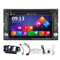 Movie MP5 Touchscreen Map In Dash PC Stereo Universal Audio EQ Radio Bluetooth GPS Car DVD Autoradio Music Sub AMP
