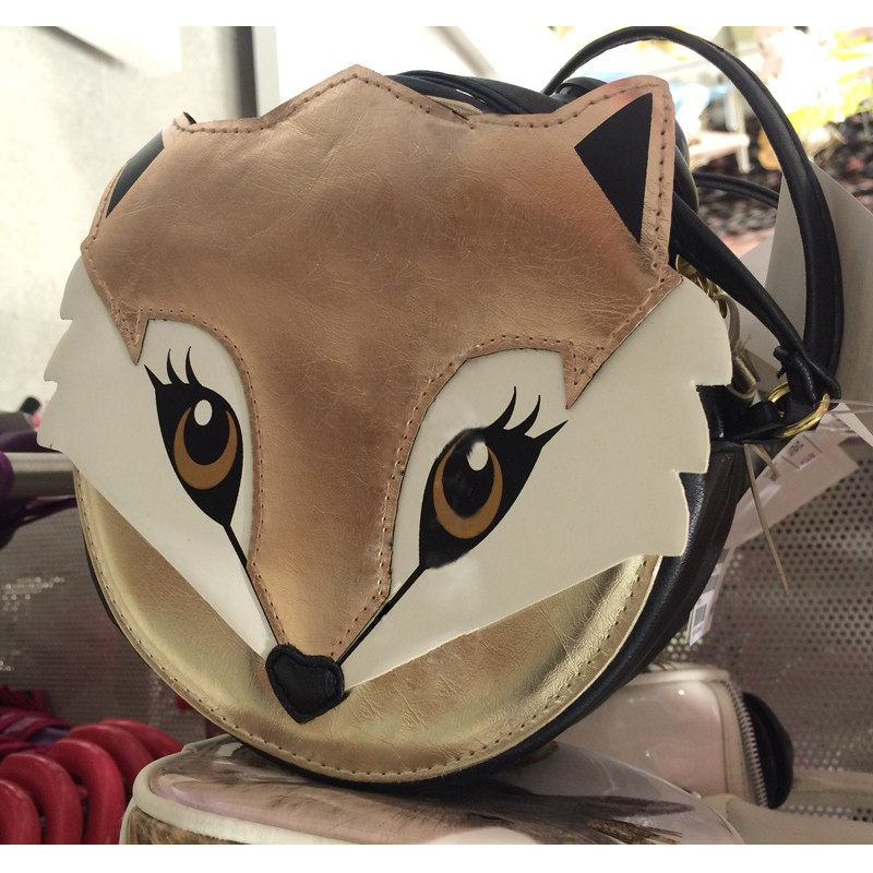 Kiss of the Goddess ! New Fashion Cute fox bag for Women PU Leather Satchel Shoulder Messenger Bag Better bandolera mujer kiss kiss creature of the night 180 gr