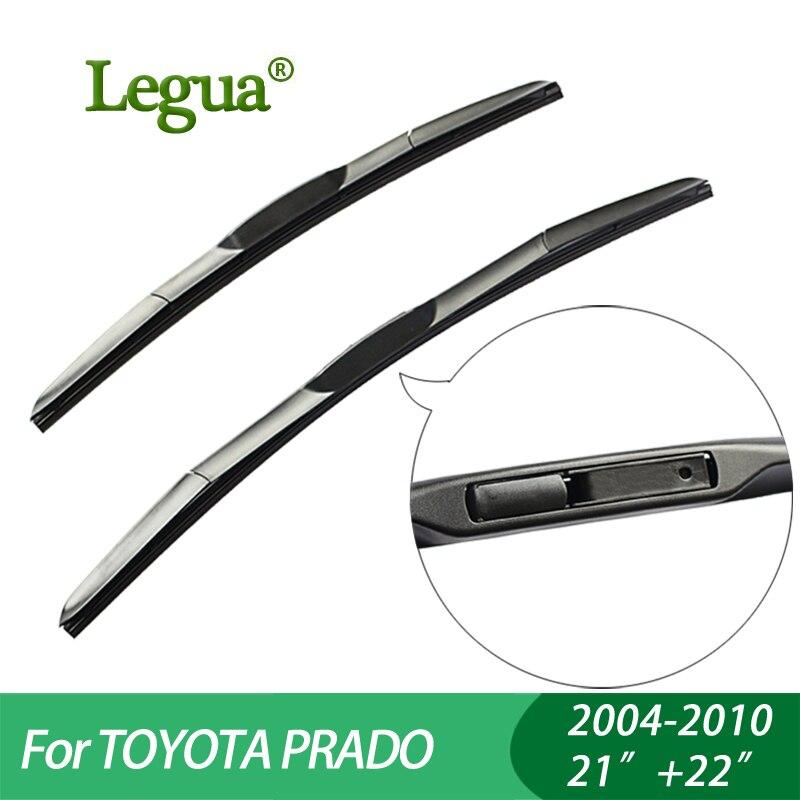 """1 Set Wisserbladen Voor Toyota Prado (2004-2010), 21 """"22"""", Auto Ruitenwisser, 3 Sectie Rubber, Ruitenwisser, Auto Accessoire"""