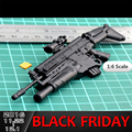 2016 For 1:6 1/6 Scale 12 inch Action Figures Assault Rifle FN SCAR Free Shipping 1/100 MG Bandai Gundam Model Can Use 000448