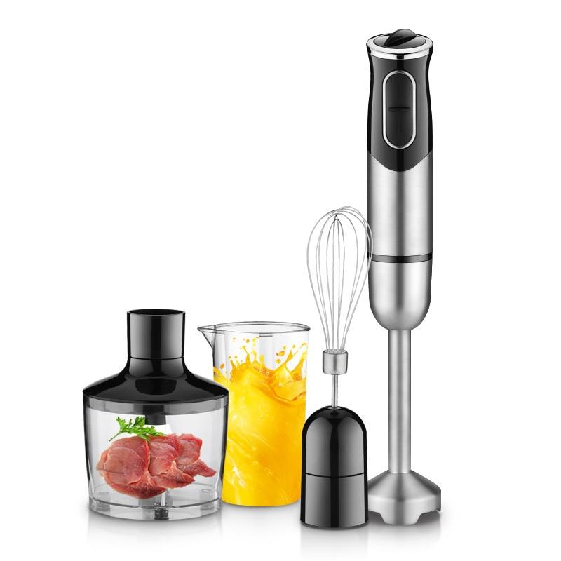 GERMAN Motor Technology Electric Hand Blender Mixer Smart Stick With Chopping Whip Beat Stir Mix Food Processors For Kitchen блендер arnica orbital mix stick blender