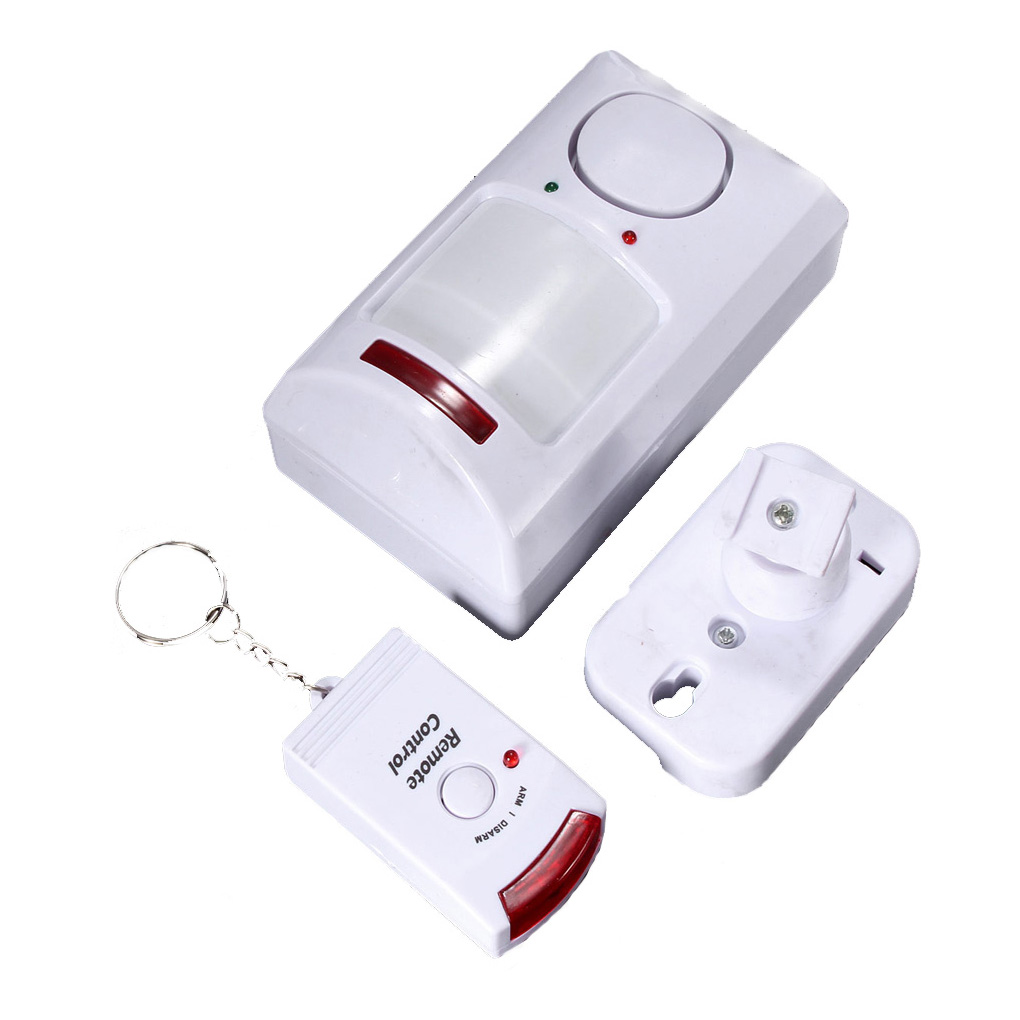 Long-range 2 Remote Controls +Wireless Pir Motion Sensor Alarm Shed Home Garage Caravan Infrared DetectorLong-range 2 Remote Controls +Wireless Pir Motion Sensor Alarm Shed Home Garage Caravan Infrared Detector