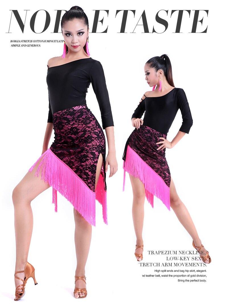 Латын Dance Dress Әйелдер Sexy Ballroom Танго Dance - Өнер, қолөнер және тігін - фото 2