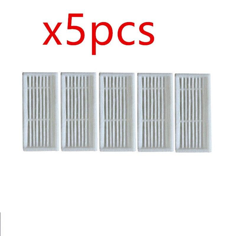 5 teile/los Roboter-staubsauger hepa-filter für Liectroux B6009 Roboterstaubsauger Teile