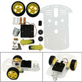 DIY Smart Motor Robot Car Chassis Battery Box Kit Speed Encoder For Arduino Free Shipping