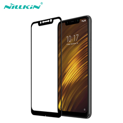 For xiaomi pocophone f1 glass screen protector full covered Nillkin CP+ 9H 0.33mm thin pocophone f1 tempered glass curved 6.18''