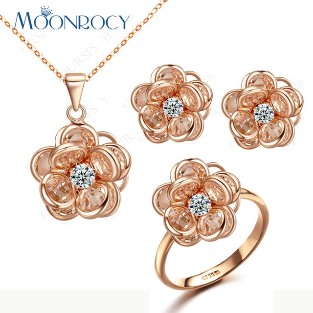 Aliexpresscom Buy MOONROCY Free Shipping Rose Gold Color Cute