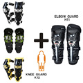 SCOYCO K12H11 Protective Kneepad Elbow Protective Gear CE Motorcycle Protector Sports Scooter Motor-Racing Guards Safety Gears