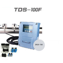 Fixed ultrasonic flow meter TDS-100F with M2 (DN50-700mm) wall-mount Outside the clip-on flowmeter(China)